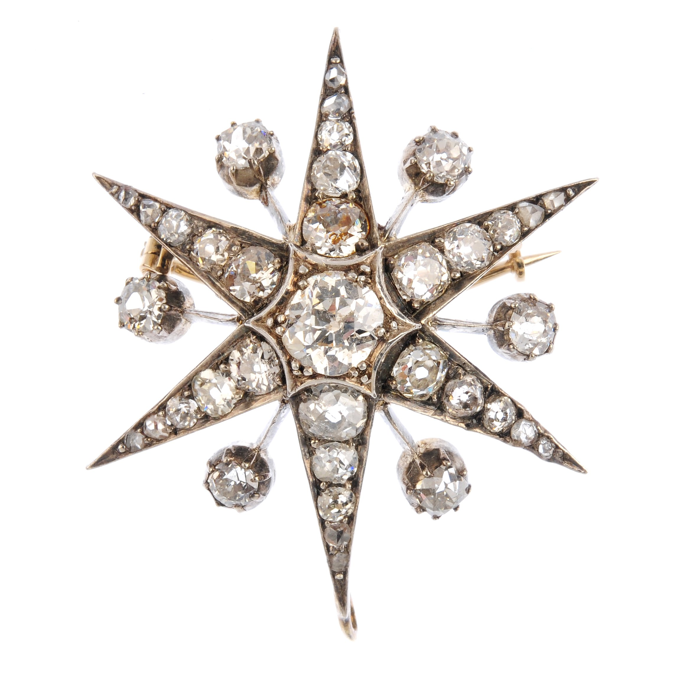 """<a href=""""https://www.fellows.co.uk/2104-lot-407-A-late-Victorian-diamond-star-brooch?utm_source=Ageless%20Heirlooms&utm_medium=blog&utm_campaign=Ageless%20Heirlooms%20Vintage&utm_content=Blog%20and%20social"""">LOT 407</a>"""